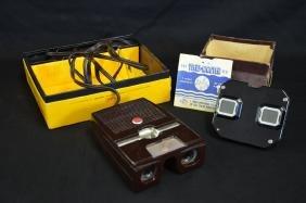 Stereo Kodak électrique et stereo Viewmaster dans