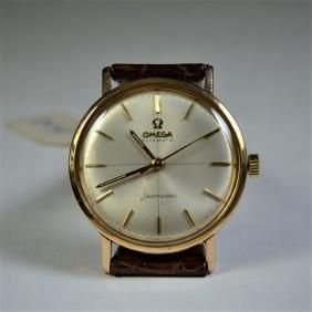 OMEGA wristwatch. Automatic, 18 ct rose gold. Diameter