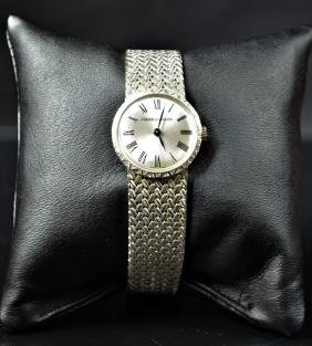 White gold wristwatch JAEGER LECOULTRE (45 g). Manual