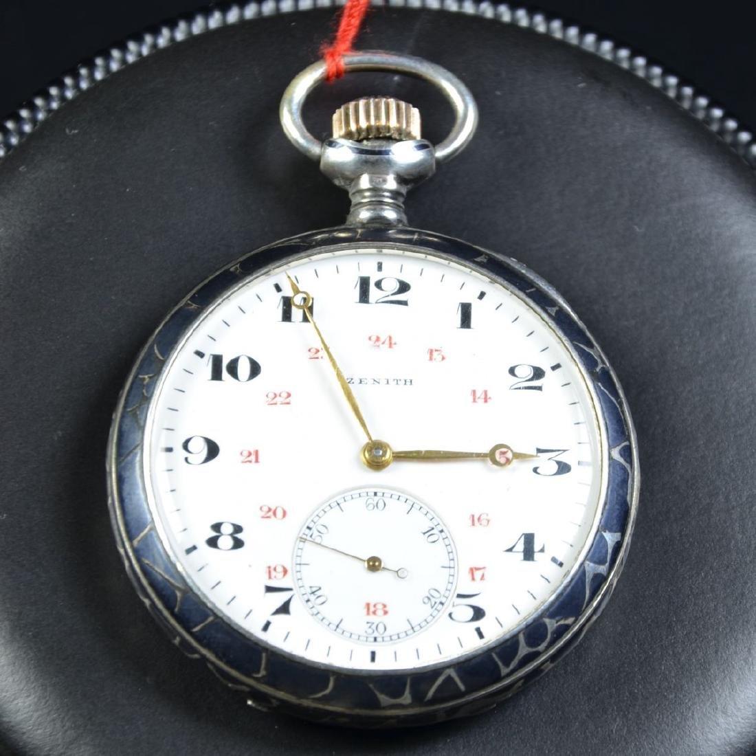 Pocket watch ZENITH in good condition.