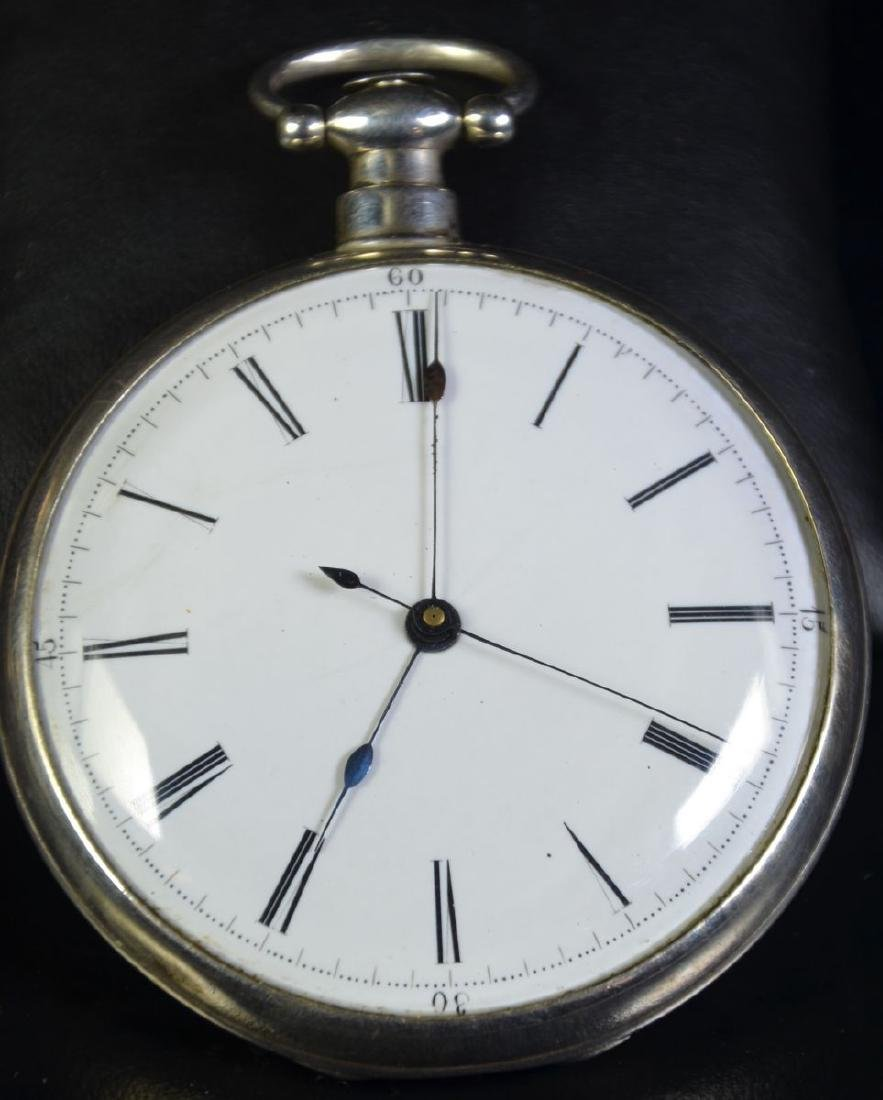Grand montre for the Chinese market, enamel clock face,