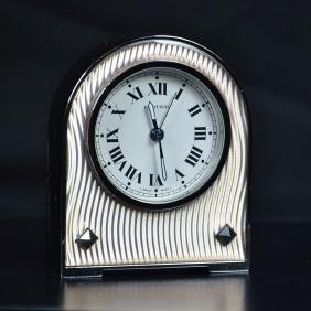 Table alarm clock CARTIER Art Deco. Very good condition