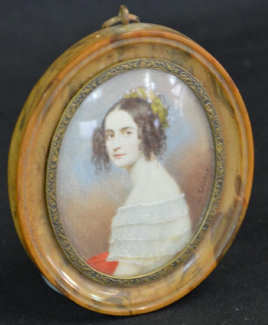 Alexandra, royal Princess of Bavaria, signed v.