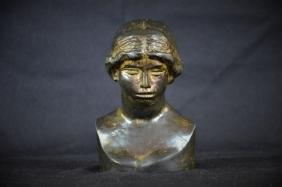 Buste en bronze de Venus par Pierre-Auguste