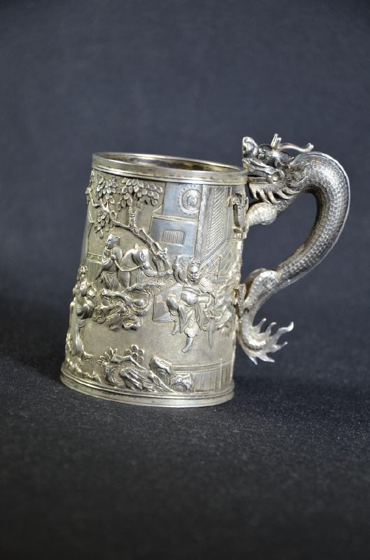 Silver cup. Lueu-Vo Shanghai (282gr)