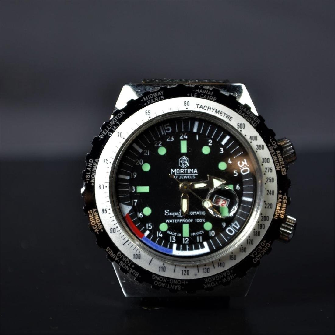 Diving watch MORTIMA Superdatomatique. With calendar.