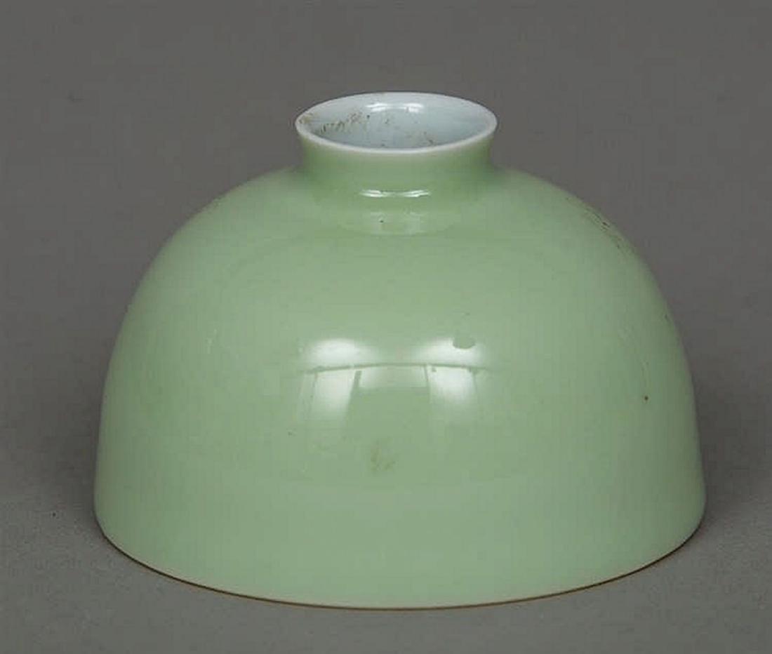 Chinese Celadon Porcelain Brush Pot