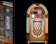 """Juke Box Wurlitzer Model 1015 """"The Bubbler"""""""