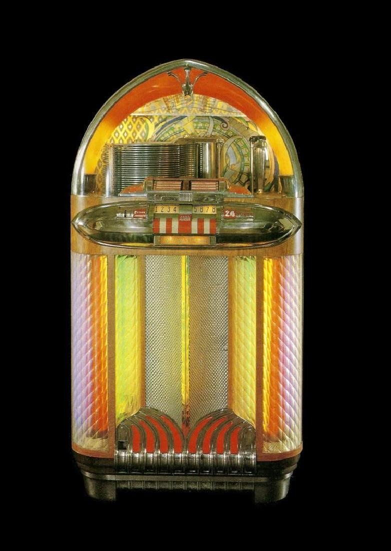 Wurlitzer 1100 Jukebox 24 Tunes