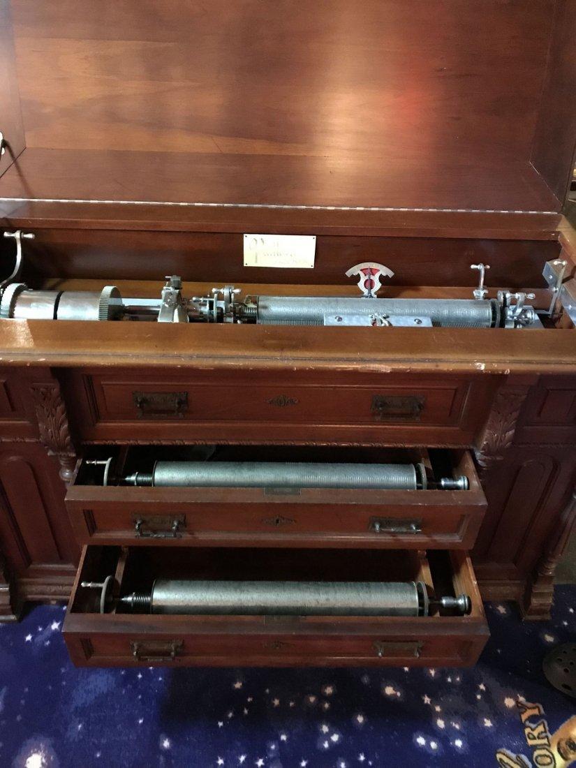 Paillard Cylinder Player in Cabinet - 3