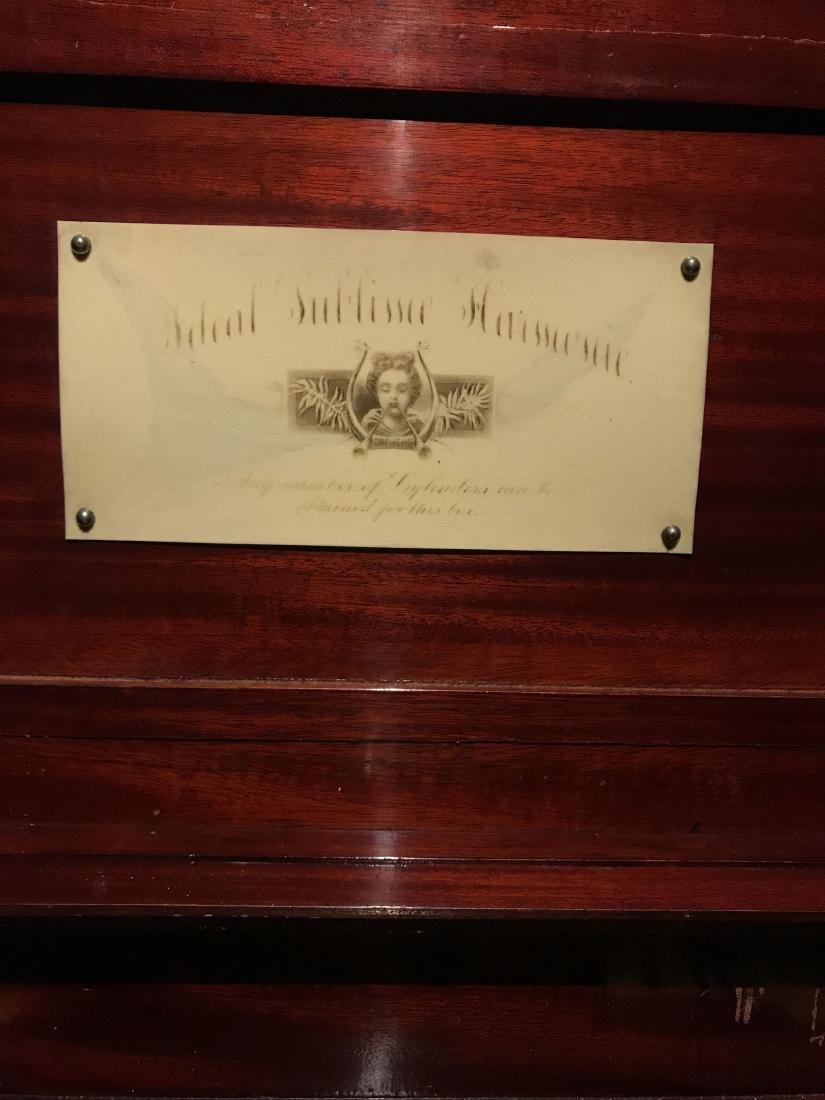 Music Box by Mermod Freres - 4