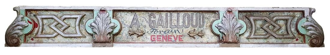 sign of the Gailloud family