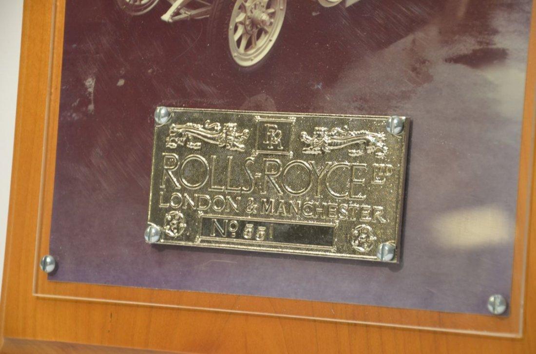 Rolls Royce London & Manchester  Plate