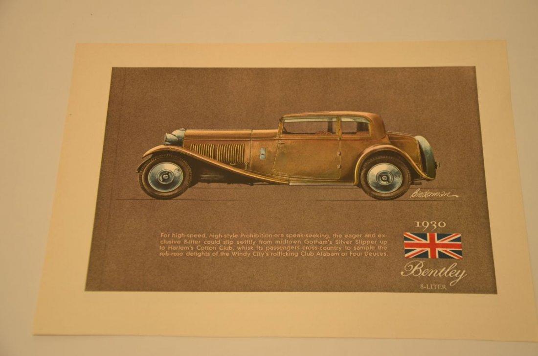 1930 BENTLEY 8» 1931 CADILLAC RARE 1964 MAGAZINE