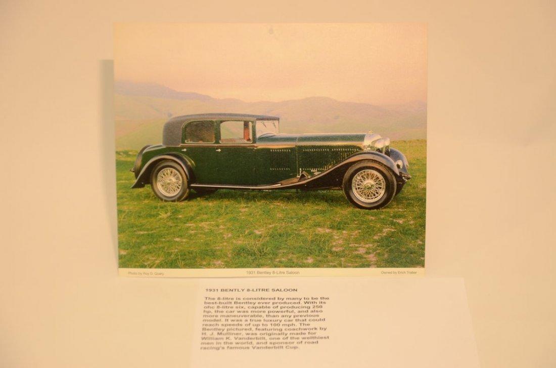 1931 Bentley very nice hard to find classic var print