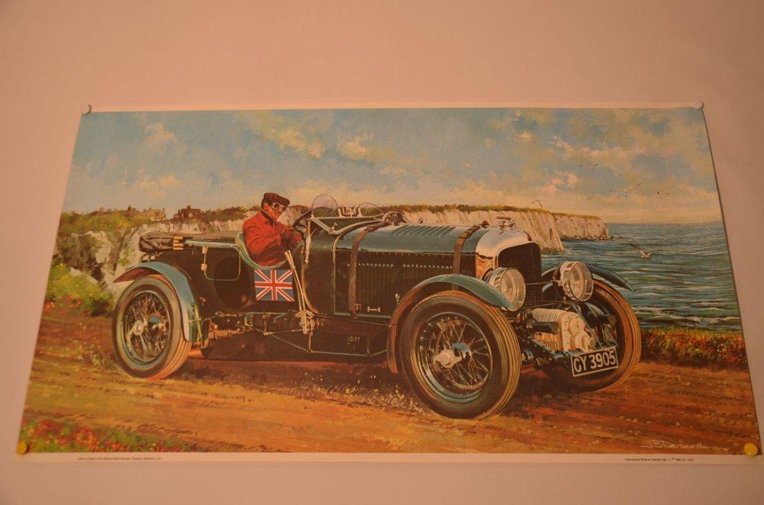 Cool 13x23 Art Print 1930 Bentley 4.5 Litre Supercharge