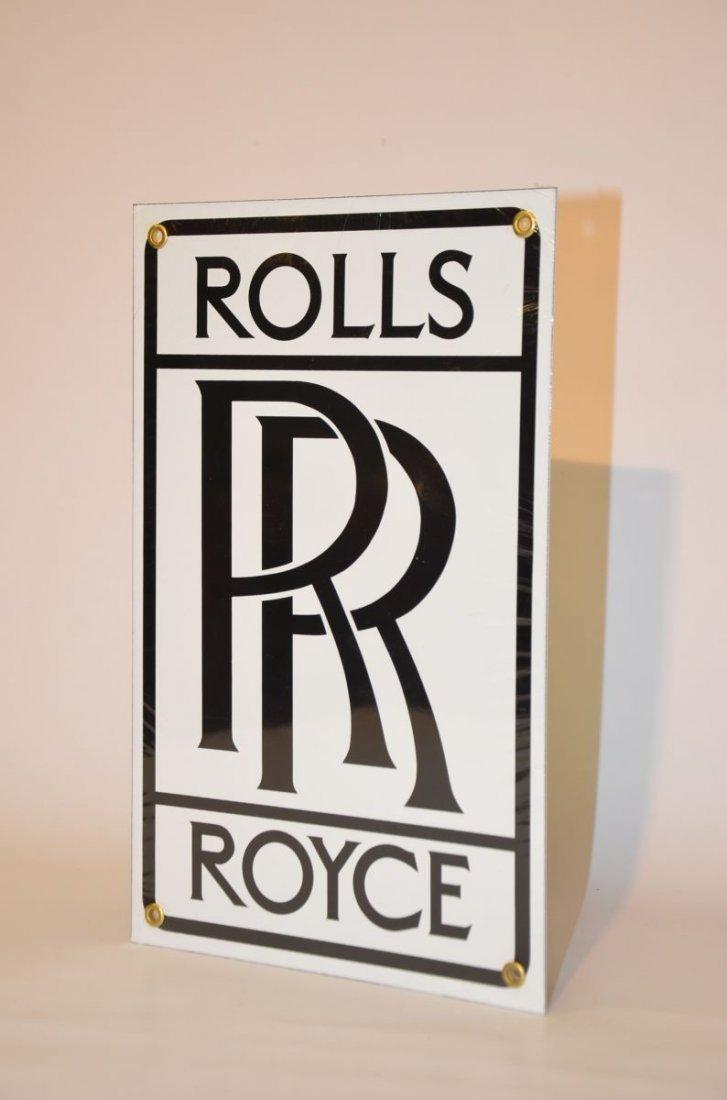 Rolls Royce Wall Plate