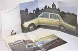 Rolls Royce Sales Brochures Silver Spur and Spirit