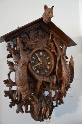 Impressive Black Forest Cuckoo Clock.