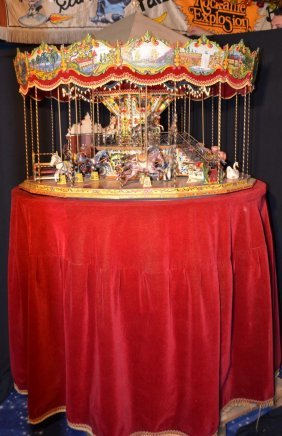 "Beautiful French Merry Go Round ""limonaire Paris"""