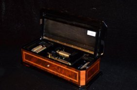 Enchanting Small Music Box By Reuge Music