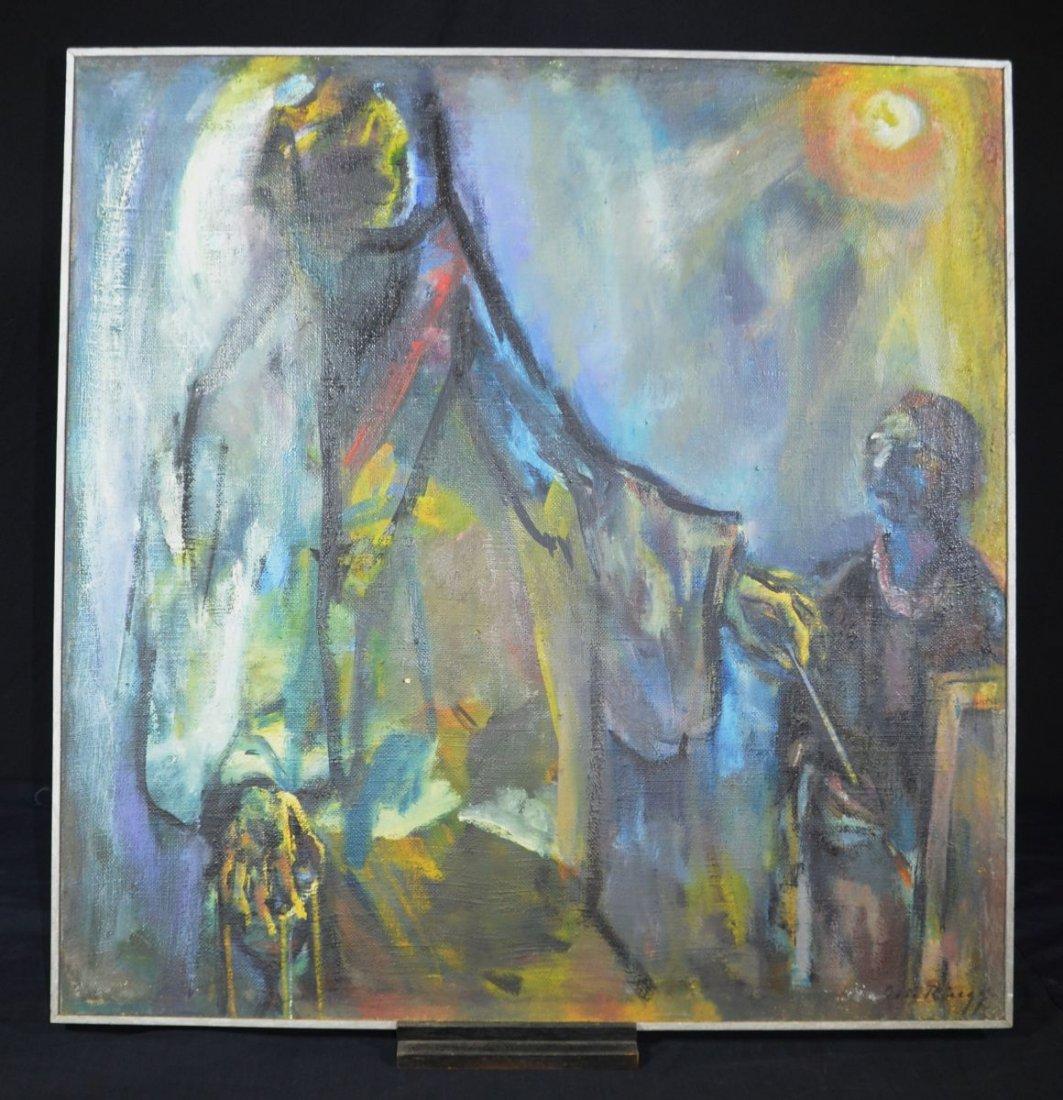"""RUEEGG, Oscar (1896 - 1987), """"The Death and the"""