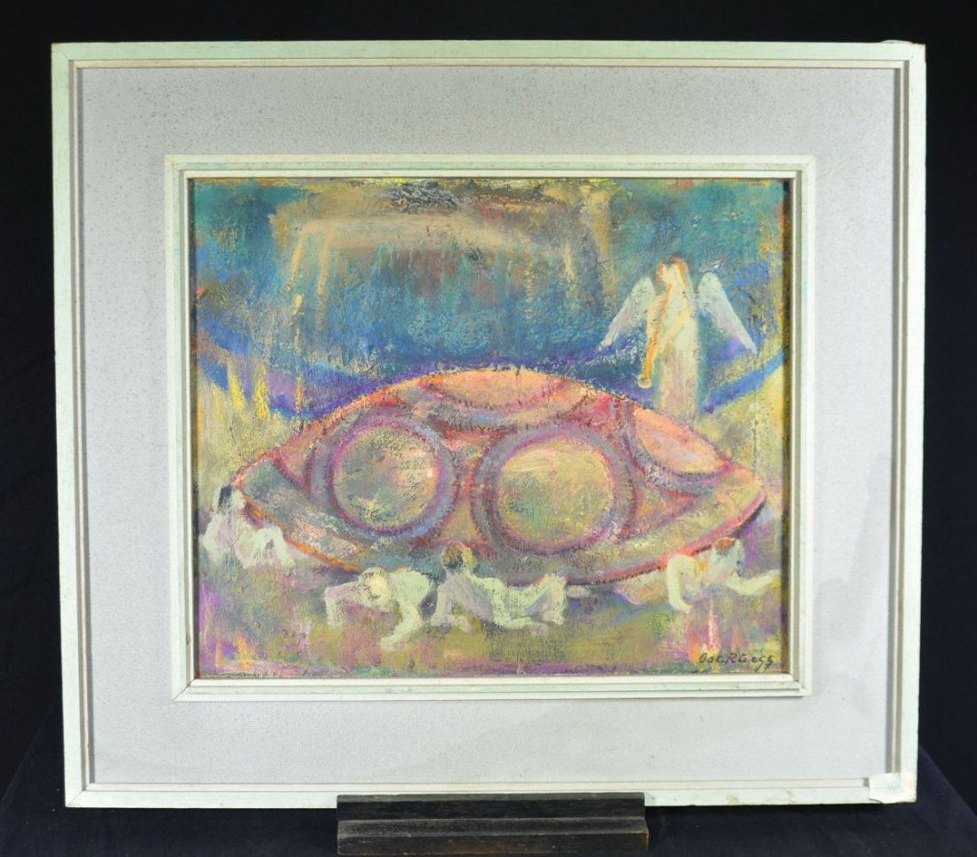 "RUEEGG, Oscar (1896 - 1987), ""Endsignal - Survivors of"
