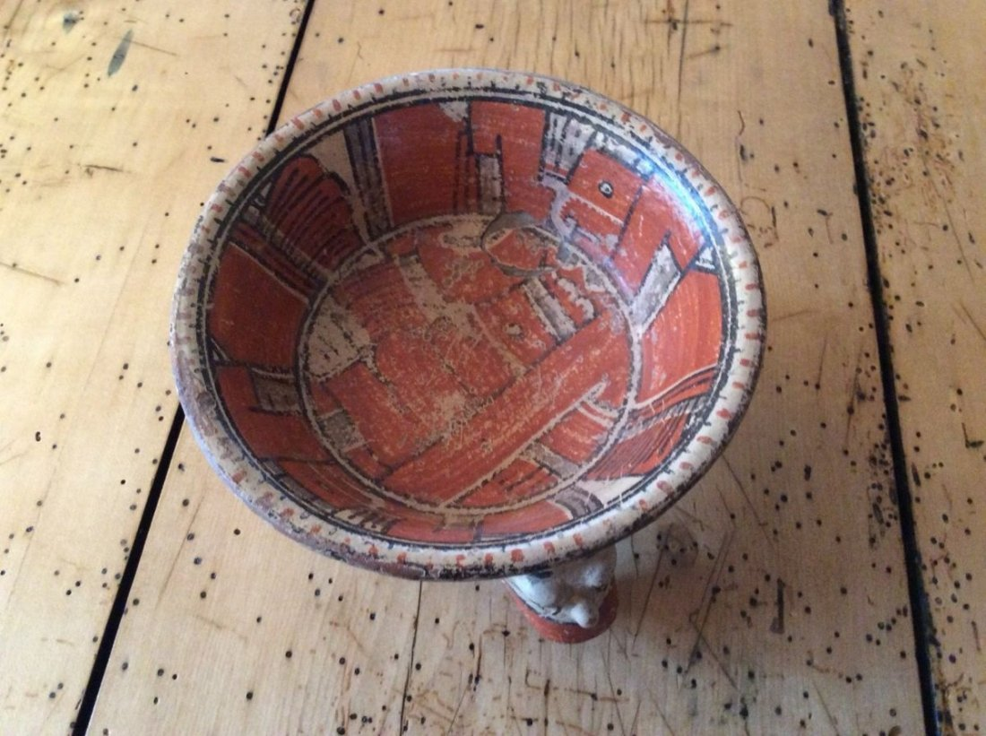 Ancient Bowl, Costa Rica, 12th century AD