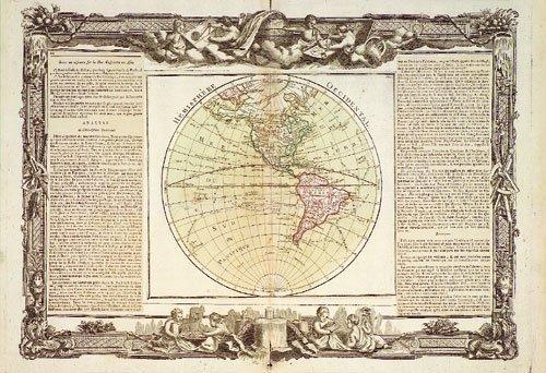 403: Amerika (anonym): Hémisphère occidental