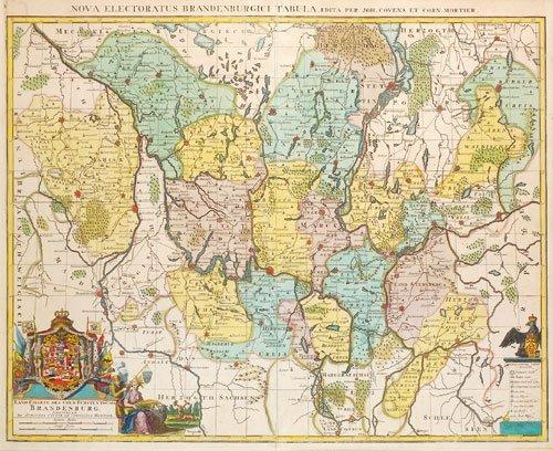 412: Brandenburg: Land-Charte des Chur-Fürstenthums