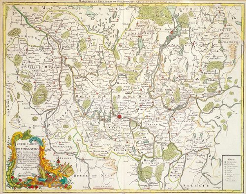 413: Brandenburg (Le Rouge): Walch, Marquisat et Electo