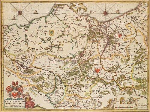 414: Brandenburg (Blaeu): Brandenburgum Marchionatus