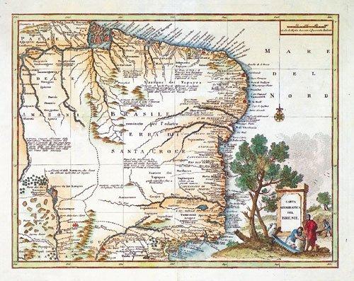 420: Brasilien (anonym): Carta Geographica del Bresil
