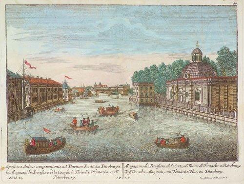 594: Sankt Petersburg (Probst): am Fontacka Fluß