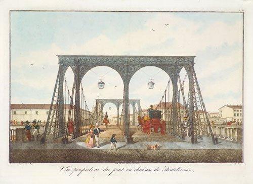 596: St. Petersburg: Pont ...de Panteleimon