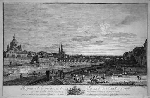 5329: Bellotto, Bernardo: Ansicht von Dresden