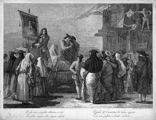 5331: Berardi, Fabio: Der Scharlatan mit seinen Zaubert