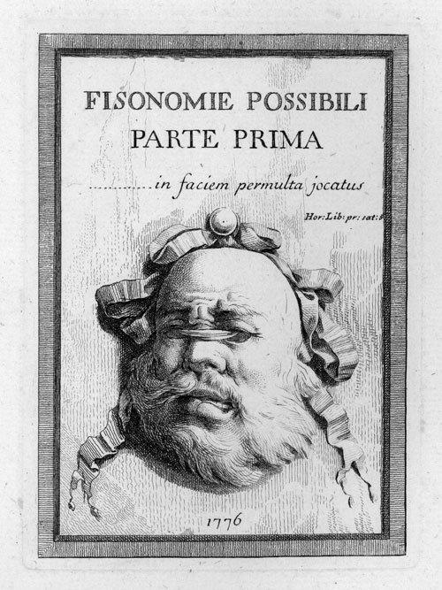 5333: Bossi, Benigno: Fisionomie Possibili - Parte Prim