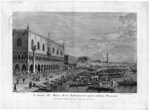 5335: Brustolon, Giovanni Battista: Blick auf den Marku