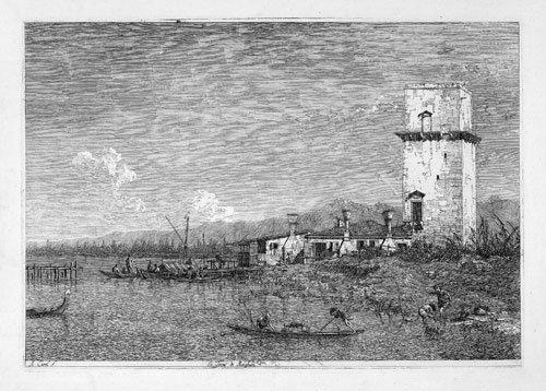 5337: Canaletto, Antonio: La Torre di Malghera