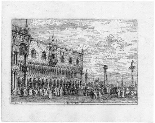 5340: Canaletto: La Pietra del Bando