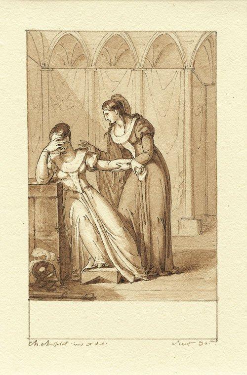 "5652: Chasselat, Charles Abraham: Szene aus Ariost' ""Ra"