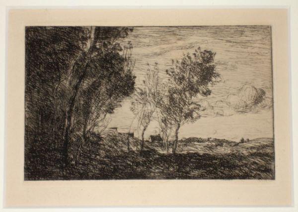 5655: Corot, Camille: Dans les Dunes