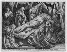 6366: Sadeler, Raphael I: Die Beweinung Christi