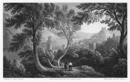 97: Batty, Robert:  Scenery of the Rhine, Belgium and H