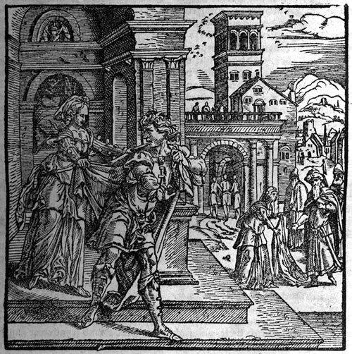 704: Bibell Das ist Alle bücher des Testaments: Köln, J