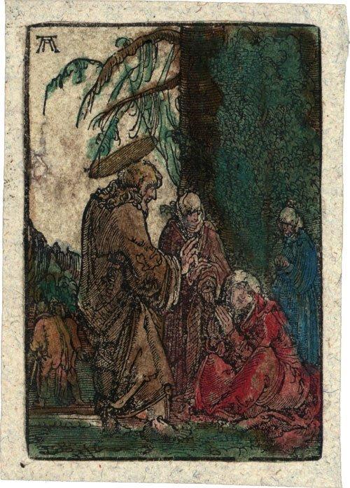 5003: Altdorfer, Albrecht: Christi Abschied von seiner