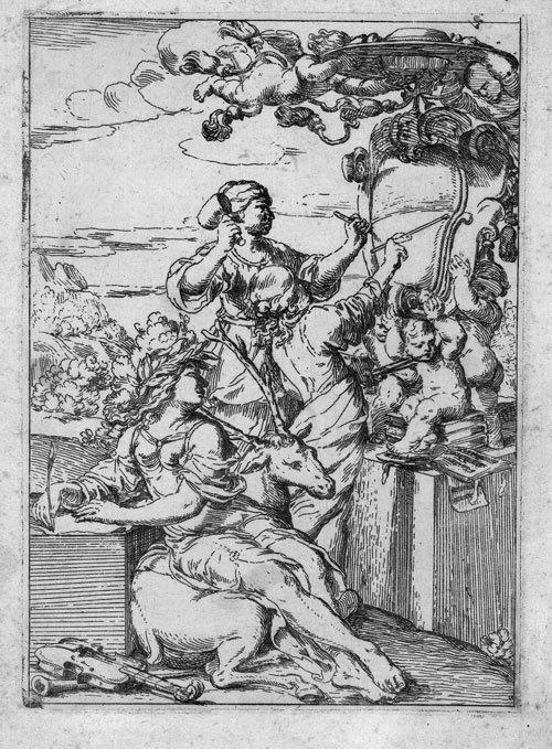 5010: Ambrogi, Domenico: Allegorie der Künste