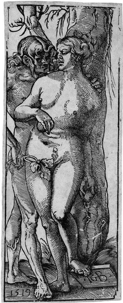 5014: Baldung, Hans : Adam und Eva