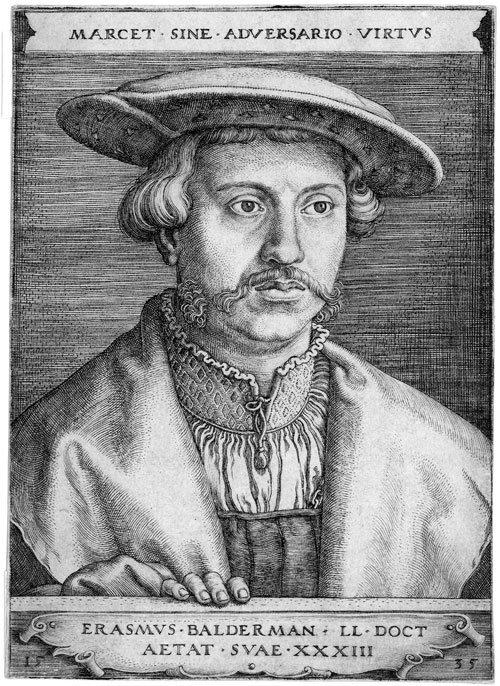 5020: Beham, Barthel: Bildnis Erasmus Baldermann